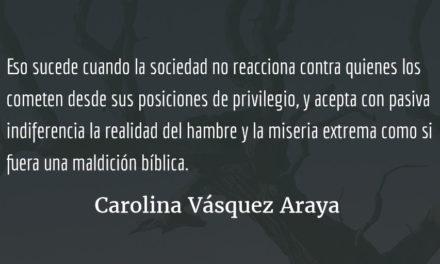 Desde un planeta lejano. Carolina Vásquez Araya.