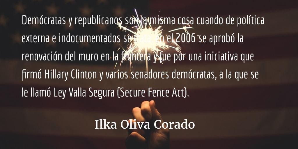 Nos llegó el turno a los indocumentados (1). Ilka Oliva Corado.