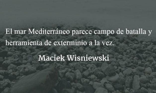 """La """"guerra racial"""", el capitalismo y la ideología. Maciek Wisniewski."""
