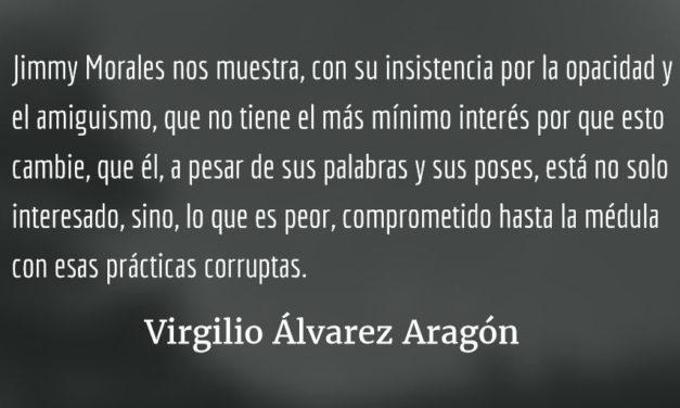 La corrupta exoneración a los 219. Virgilio Álvarez Aragón.