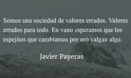 Espejitos y anorexia cultural. Javier Payeras.