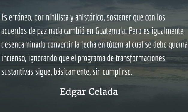 La oportunidad perdida o 20 años después. Edgar Celada Q.