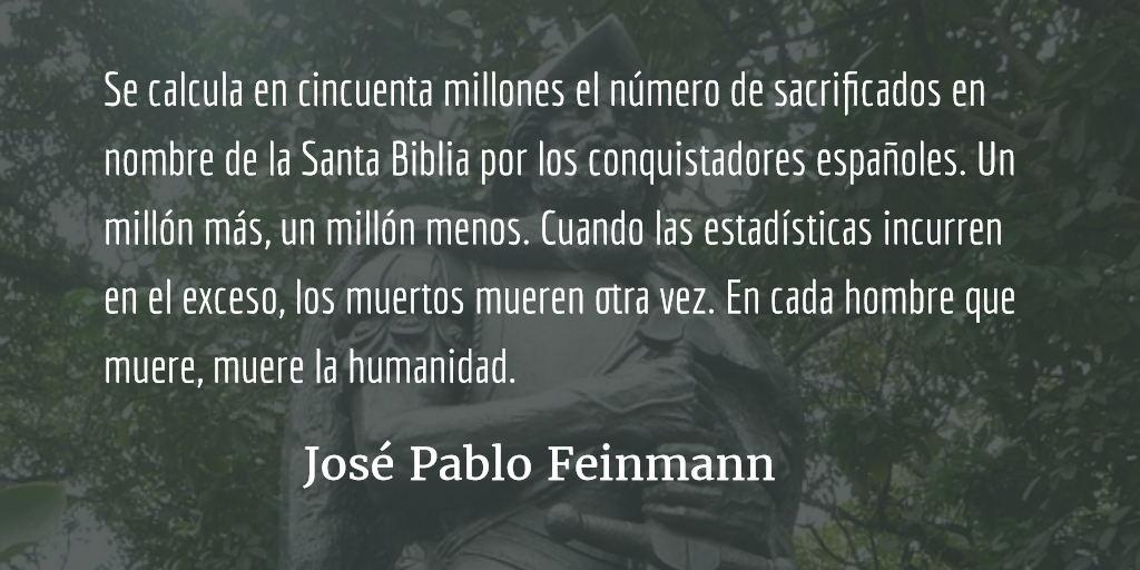 De rebeldes y obedientes. José Pablo Feinmann.