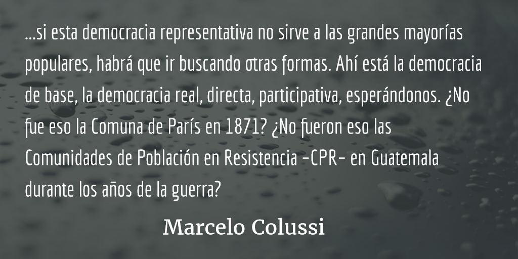 ¿Quién manda? ¿Los funcionarios de gobierno o los empresarios? ¿Y la población? Marcelo Colussi