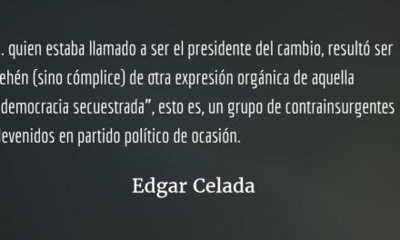 La restauración, capítulo dos. Edgar Celada Q.