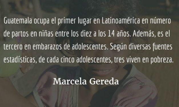 Mikaela y los embarazos tempranos. Marcela Gereda.