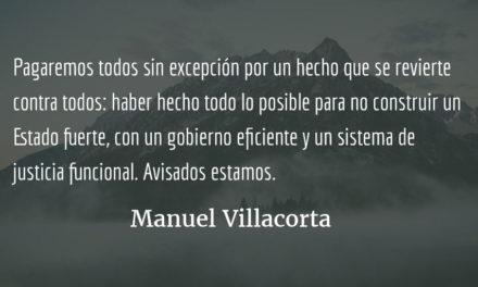 Año 2017: ¿el peor de nuestra historia?  Manuel Villacorta