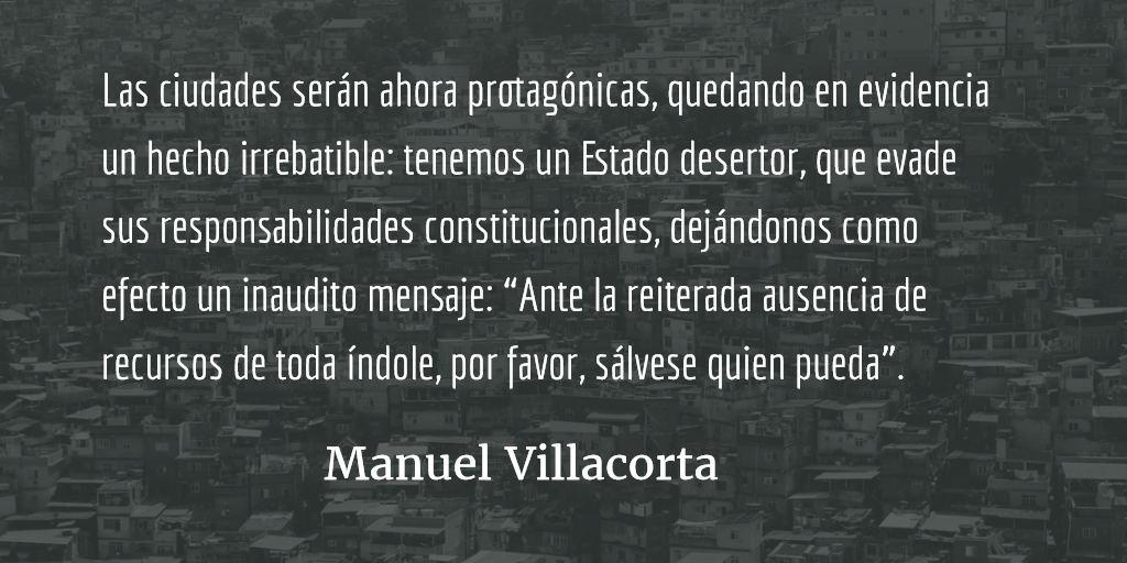 Tu ciudad del futuro ya está aquí. Manuel Villacorta.