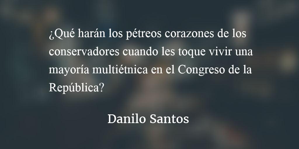 No más cura con ese veneno. Danilo Santos.