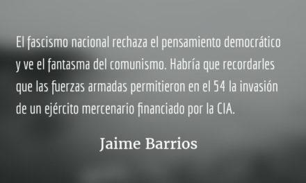 Asedio a la razón. Jaime Barrios.