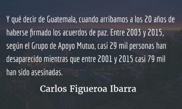 Cruenta Navidad. Carlos Figueroa Ibarra.