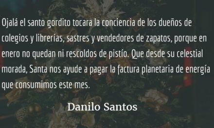 Amar y comprar. Danilo Santos.