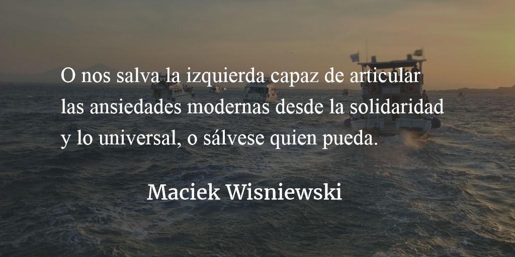 """La """"guerra racial"""", el capitalismo y la ideología (EU). Maciek Wisniewski."""