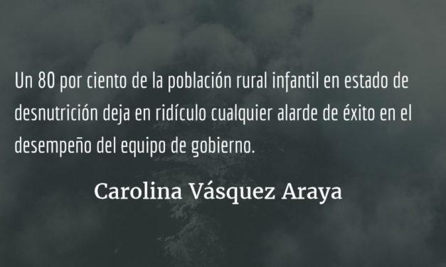 Avances y retrocesos. Carolina Vásquez Araya.