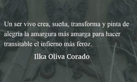 La fuerza de la tempestad. Ilka Oliva Corado.
