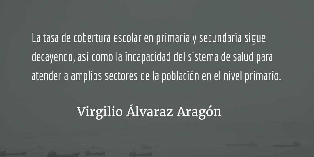 Esconder información es corrupción. Virgilio Álvarez Aragón.