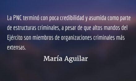 Pueblos indígenas y la paz en Guatemala IV. María Aguilar.