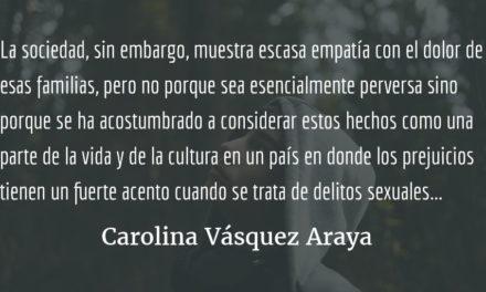 Sin clientes no hay trata. Carolina Vásquez Araya.