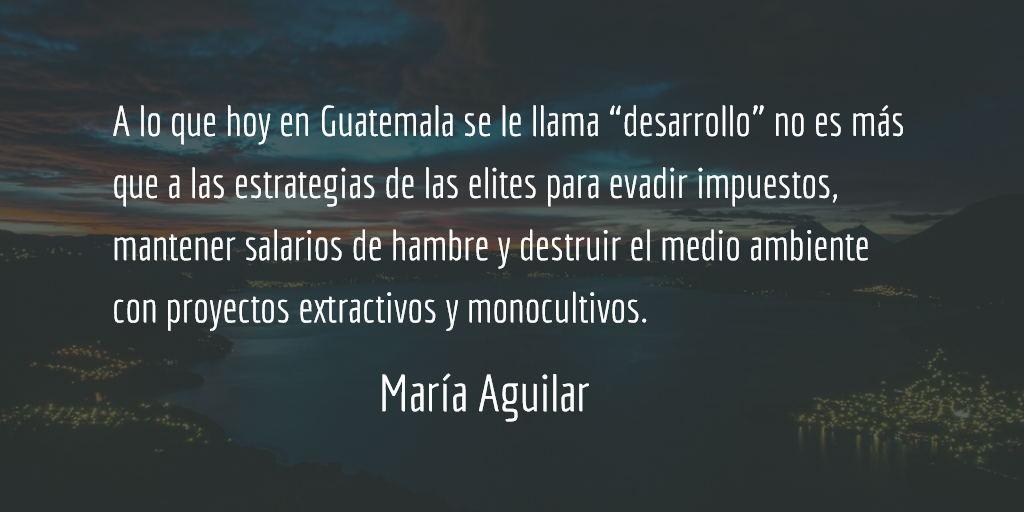 Pueblos indígenas y la paz en Guatemala V. María Aguilar.