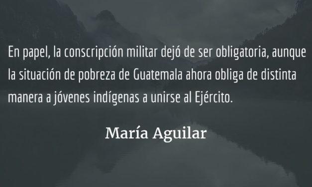 Pueblos indígenas y la paz en Guatemala (VI). María Aguilar.