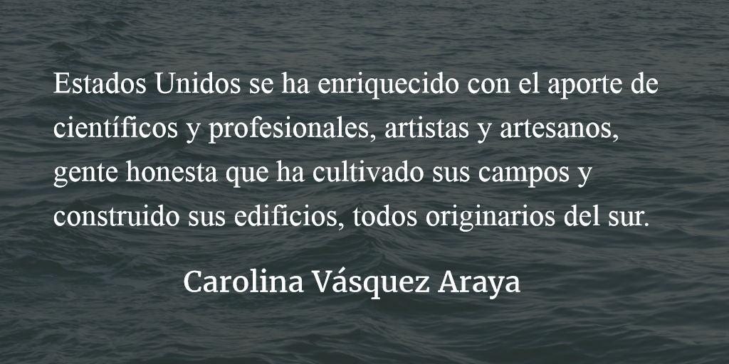 Las líneas divisorias. Carolina Vásquez Araya.