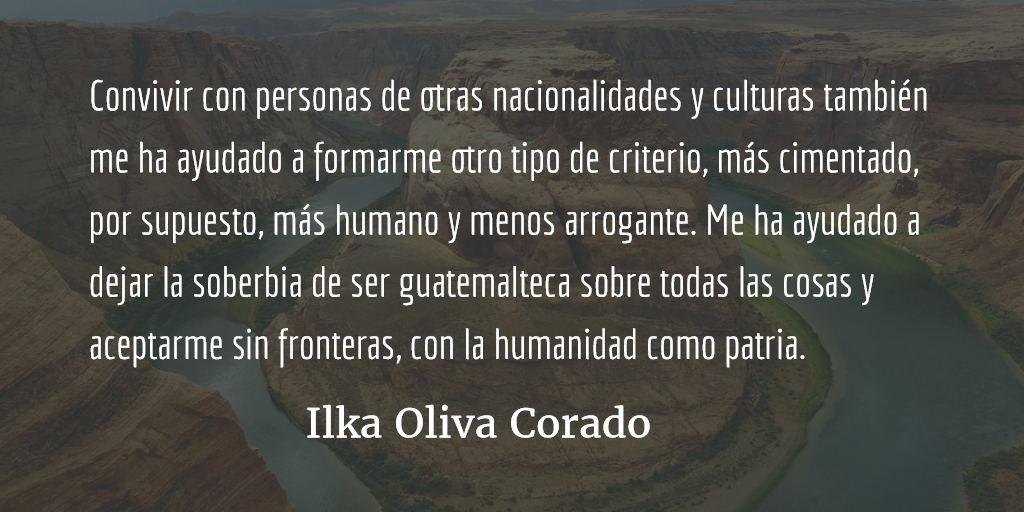 El descaro de ser articulista desde Estados Unidos. Ilka Oliva Corado.