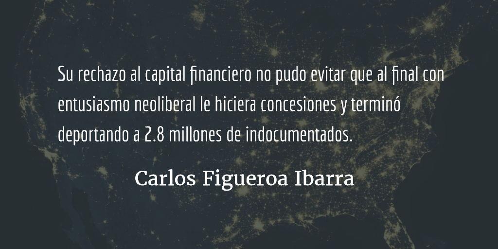 Adiós Barack Obama. Carlos Figueroa Ibarra.