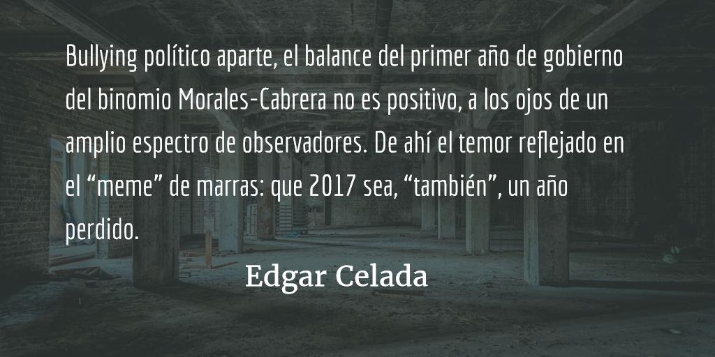 El riesgo de la resignación. Edgar Celada Q.