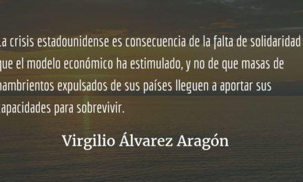 La «trumpada» del muro y el silencio chapín. Virgilio Álvarez Aragón.