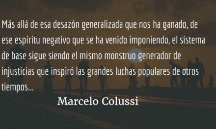 ¿Se terminó el neoliberalismo? Marcelo Colussi