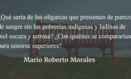El síndrome de doña Florinda. Mario Roberto Morales.