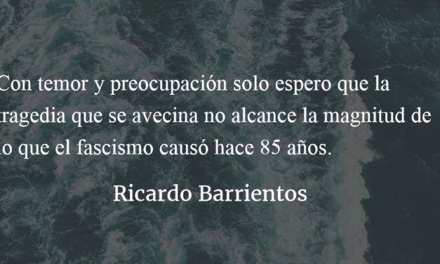 Ante las locuras fascistas de Trump. Ricardo Barrientos.