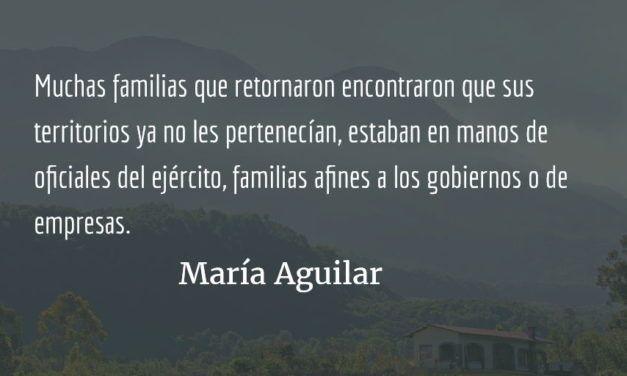 Pueblos indígenas y la paz en Guatemala VII. María Aguilar.