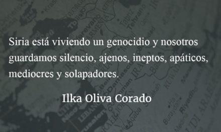 Una dignidad llamada Siria. Ilka Oliva Corado.
