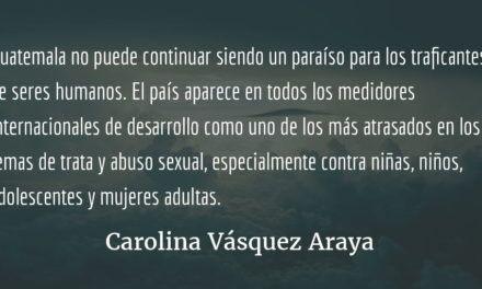Vientos de enero. Carolina Vásquez Araya.