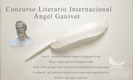 Concurso Literario Internacional Ángel Ganivet 2017 (Undécima Edición)