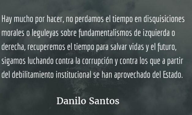 Salud, mujeres y niñez: tarea pendiente. Danilo Santos.