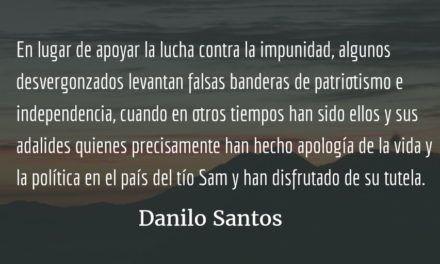 Ley, pisto o pistola. Danilo Santos.
