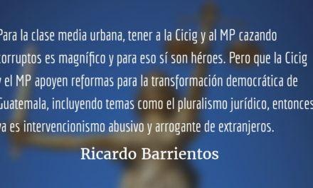Los «pecados» de Iván Velásquez. Ricardo Barrientos.
