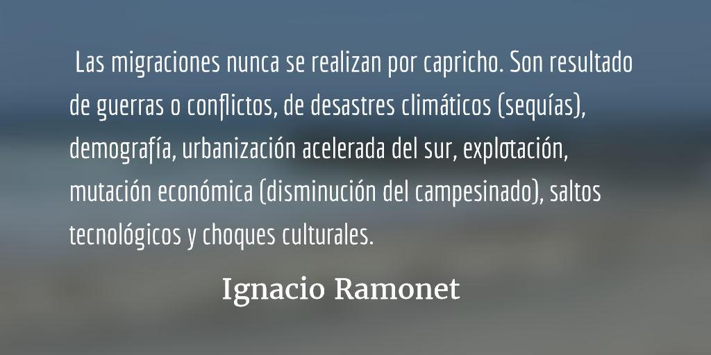 El año de la gran muralla. Ignacio Ramonet.