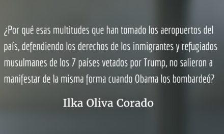 El doble estándar de las manifestaciones en Estados Unidos. Ilka Oliva Corado.