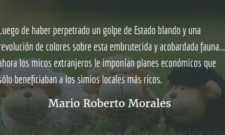 Fábula del país que dejó de serlo. Mario Roberto Morales.
