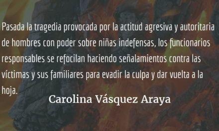 El liderazgo significa humanidad. Carolina Vásquez Araya.