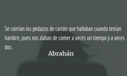 Abrahán. Rolando Enrique Rosales Murga.
