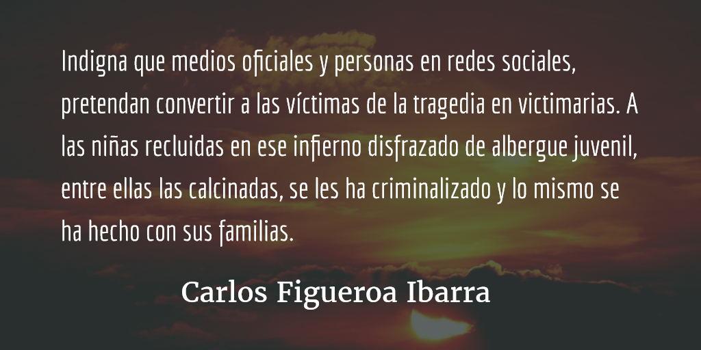 Mujeres incendiadas. Carlos Figueroa Ibarra.