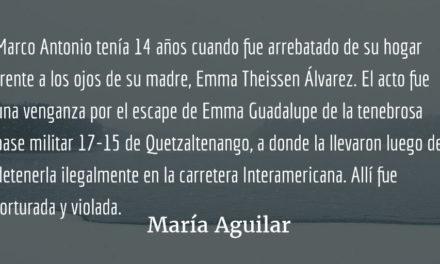 La niñez y la guerra I. María Aguilar.