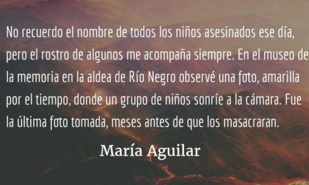 La niñez y la guerra II. María Aguilar.