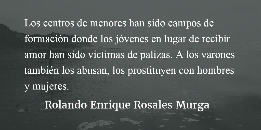 Escuelas del horror. Rolando Enrique Rosales Murga.