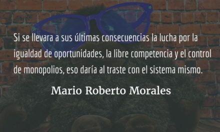 Fábula del monito izquierdista. Mario Roberto Morales.