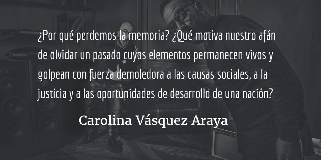 Las voces silenciosas. Carolina Vásquez Araya.